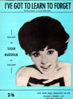 Susan Maughan - I've Got To Learn To Forget